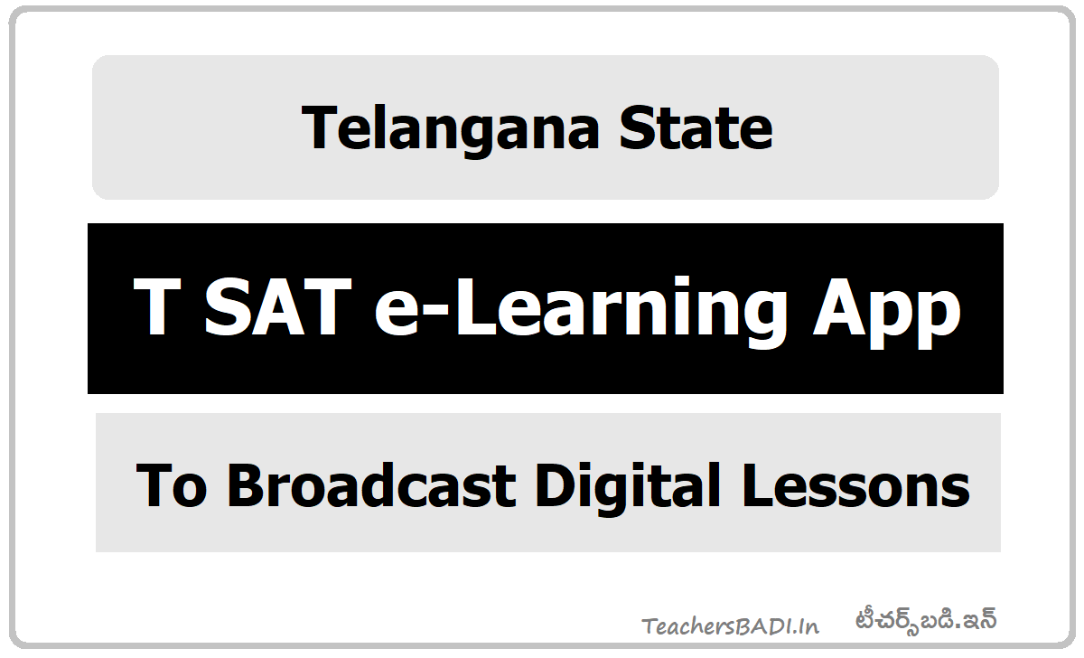 T SAT e-Learning App to Broadcast Digital Lessons