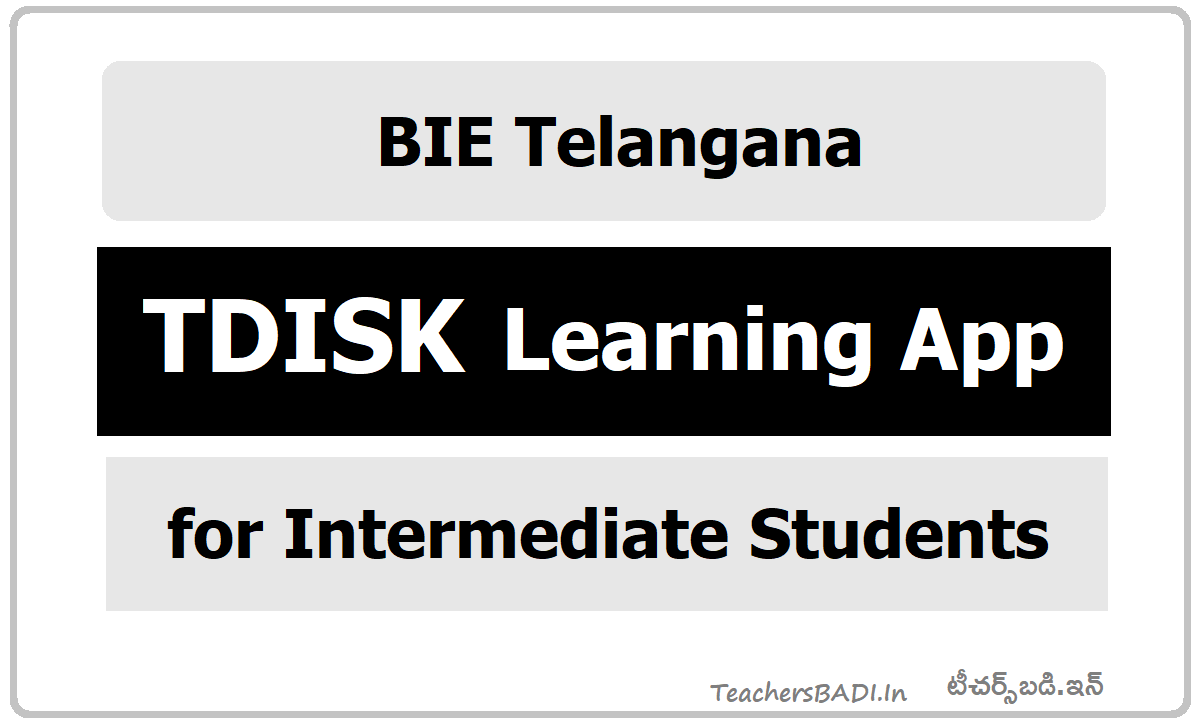 TDiSK Learning App for Intermediate Students