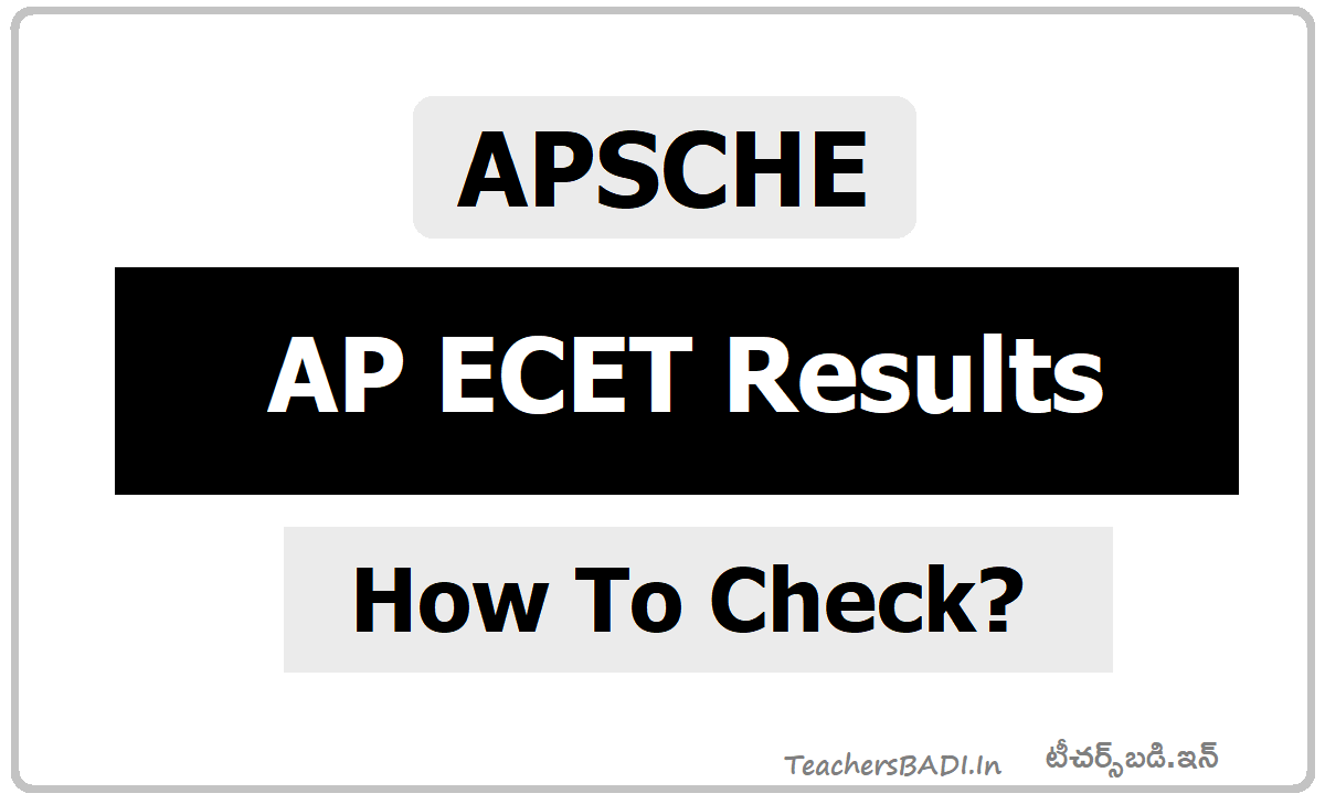 AP ECET Results Rank cards