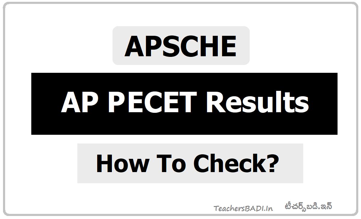 AP PECET Results