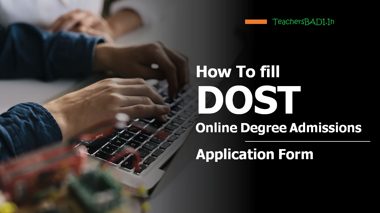 How To fill DOST Online Degree Admissions Application Form