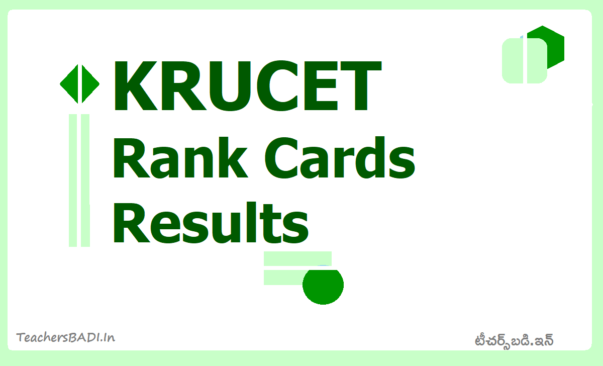 KRUCET Rank Cards & Results 2020