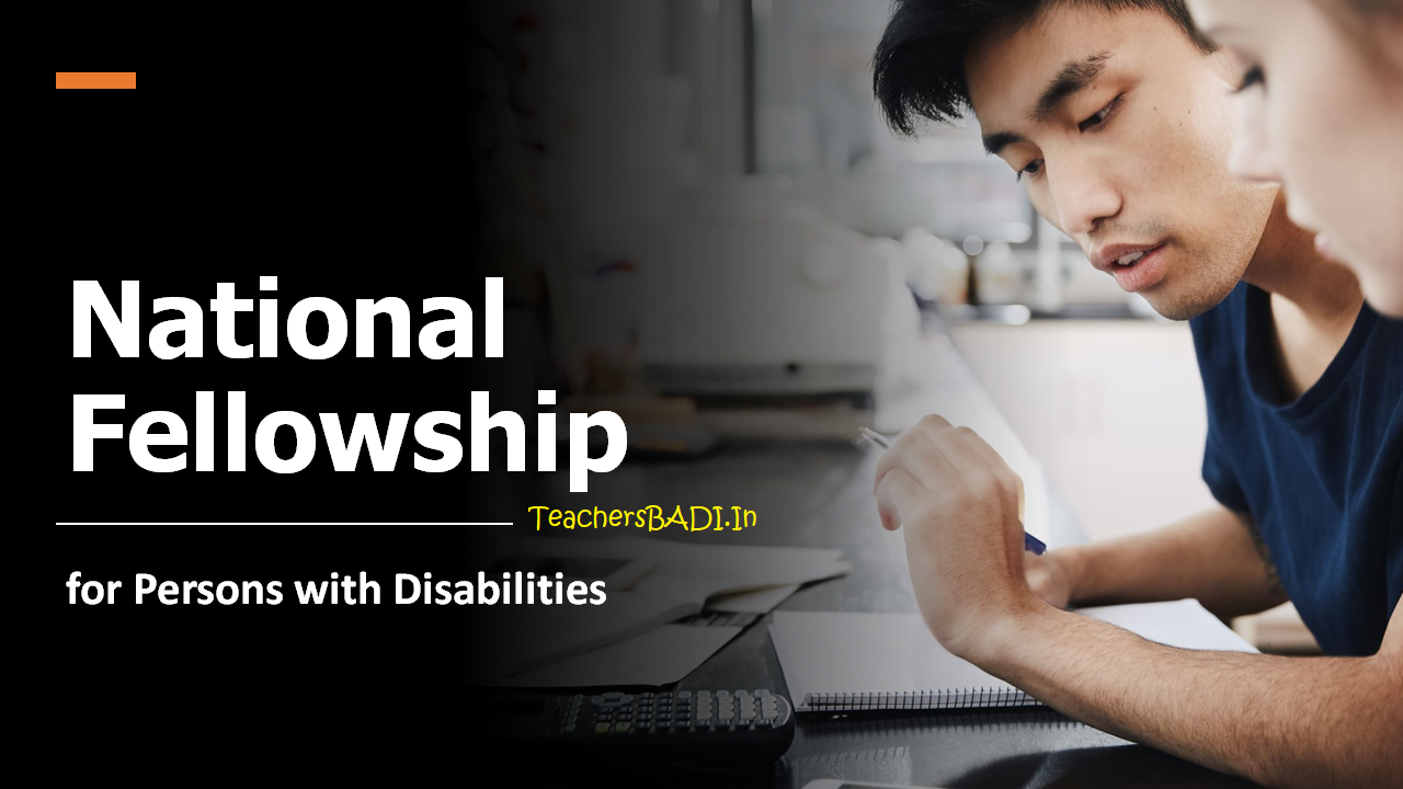 National Fellowship for Persons with Disabilities