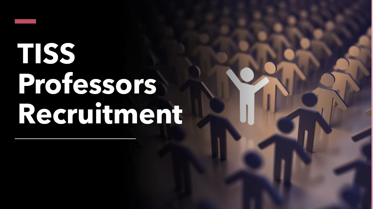 TISS Professors Recruitment 2020
