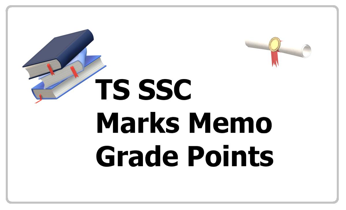 TS SSC Marks Memo 2020 and Grades