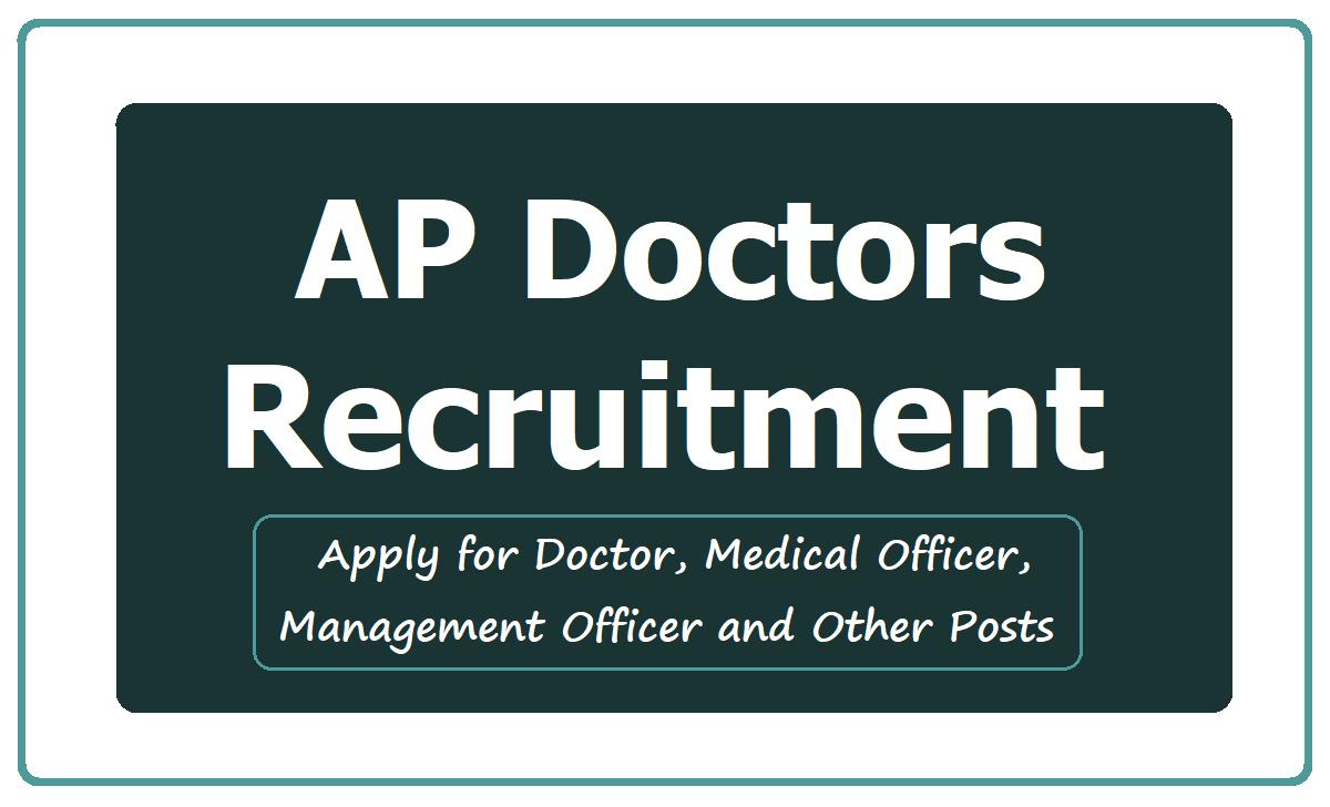 AP Doctors Recruitment 2020