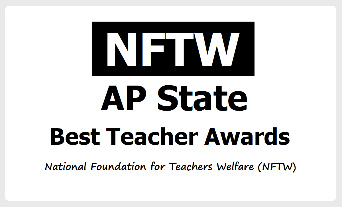 AP National Foundation for Teachers Welfare State Best Teacher Awards