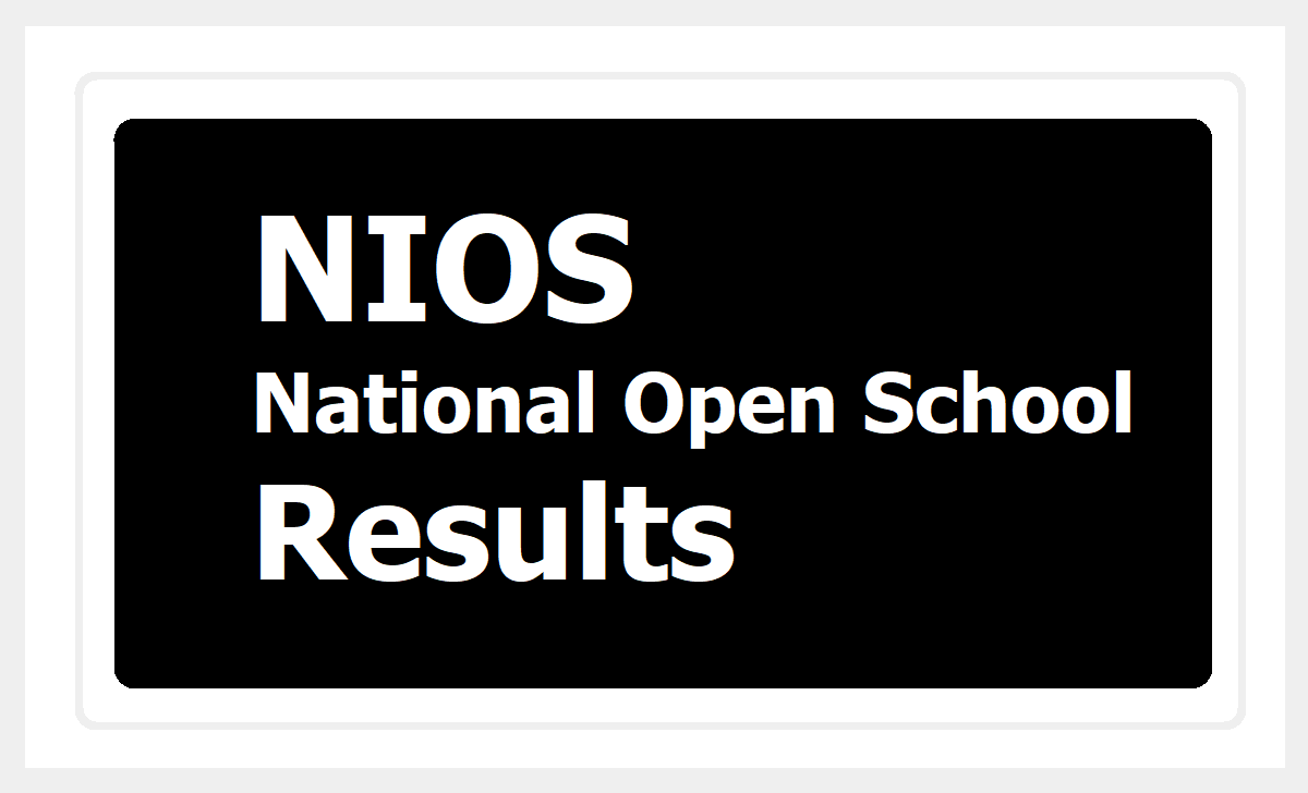 National Open School Results 2020