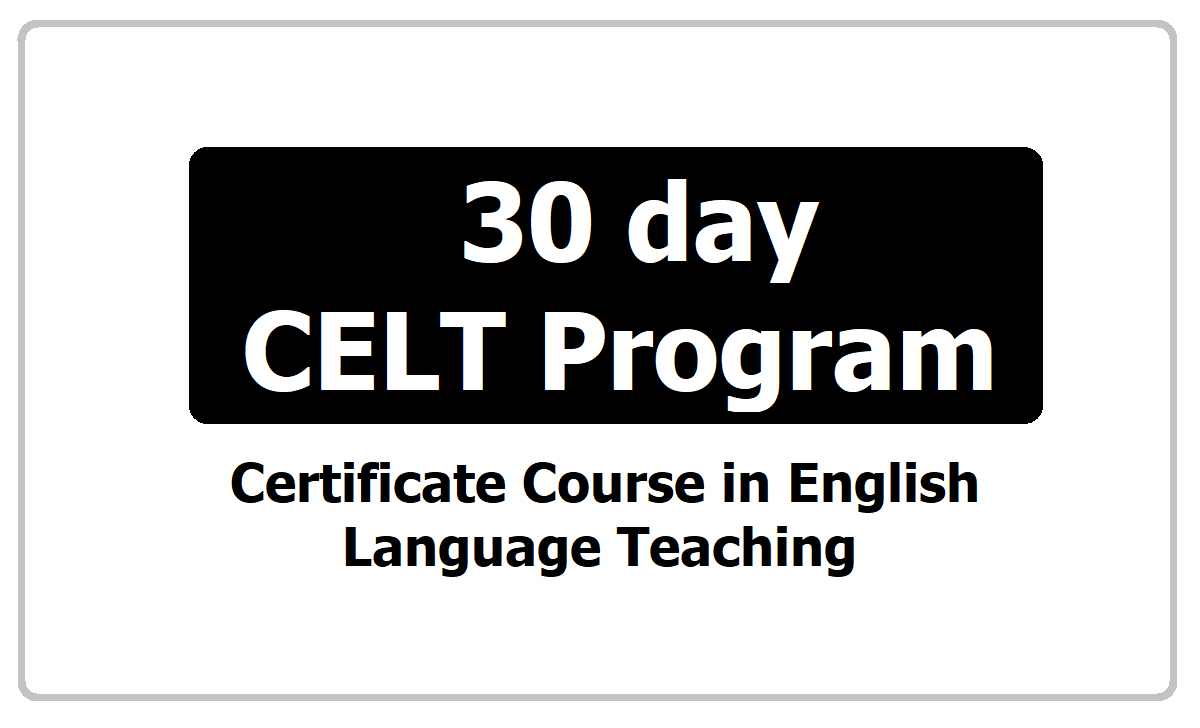 30 day CELT Program 2021