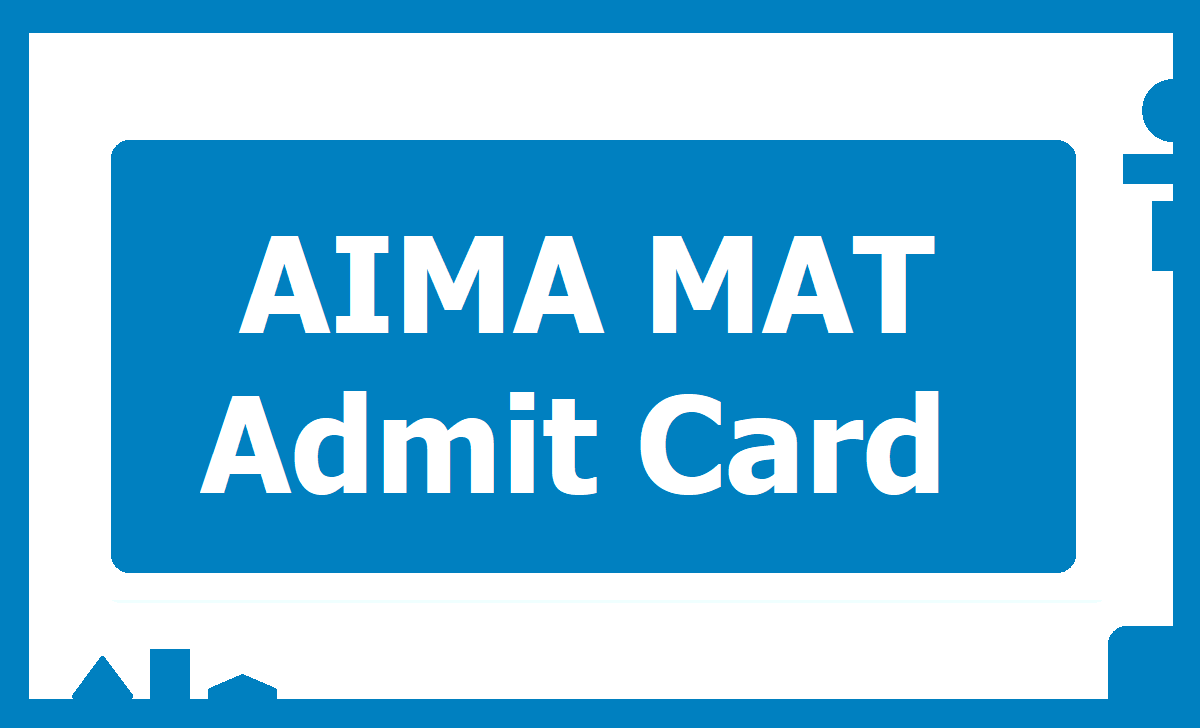 AIMA MAT Admit Card 2020