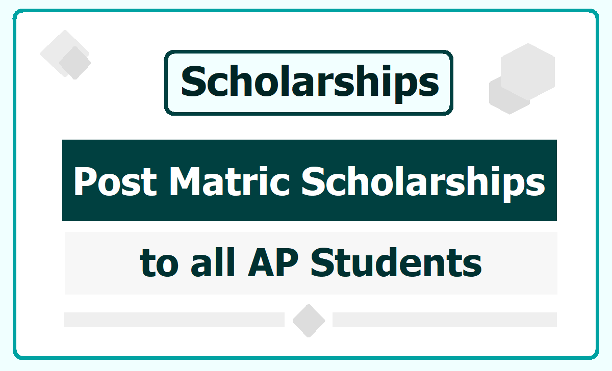 AP Post Matric Scholarships 2020 to SC, ST, BC, EBC, Kapu, Minorities, Differently Abled Students
