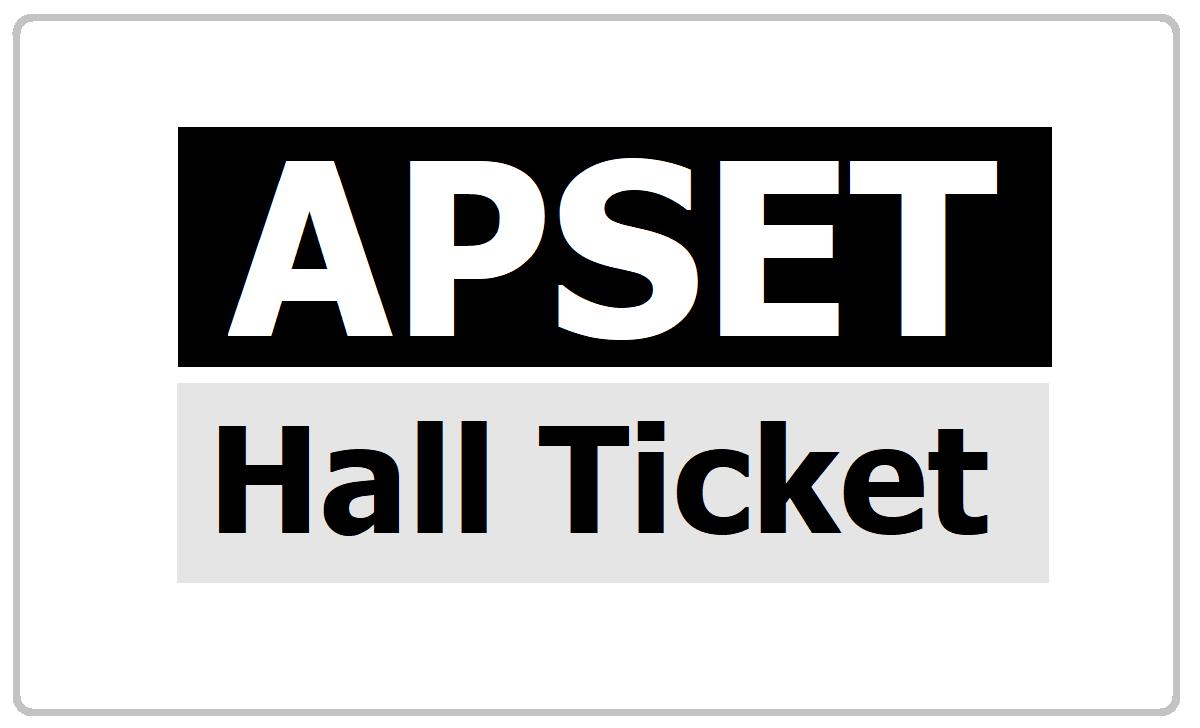 A{SET Hall Ticket 2021