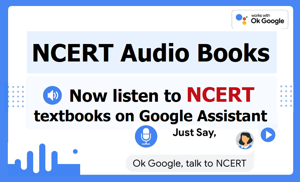 NCERT Audio Books for Class 1 to class 12 Students