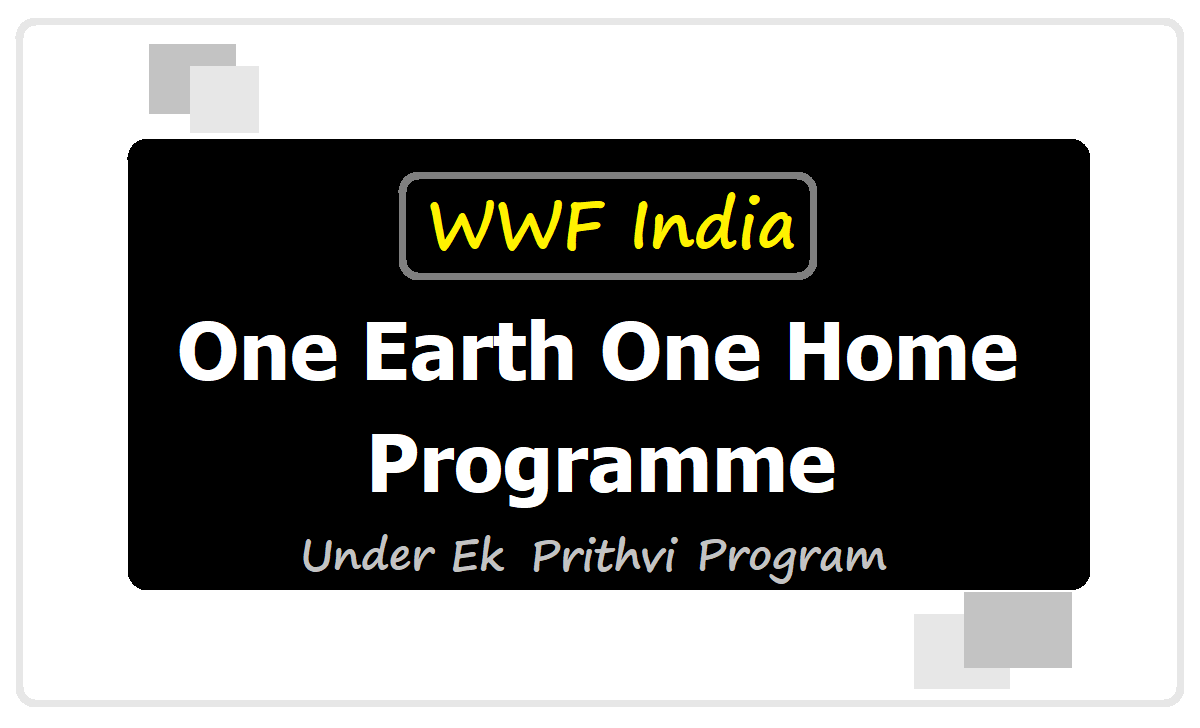 One Earth One Home programme 2020 and Activities in TS Schools