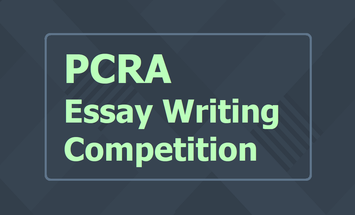 PCRA Essay Writing Competition