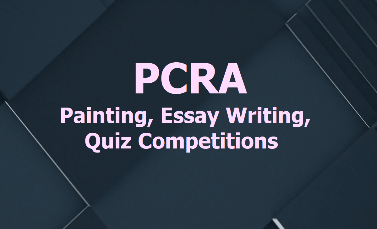 PCRA Painting, Essay Writing, Quiz Competitions