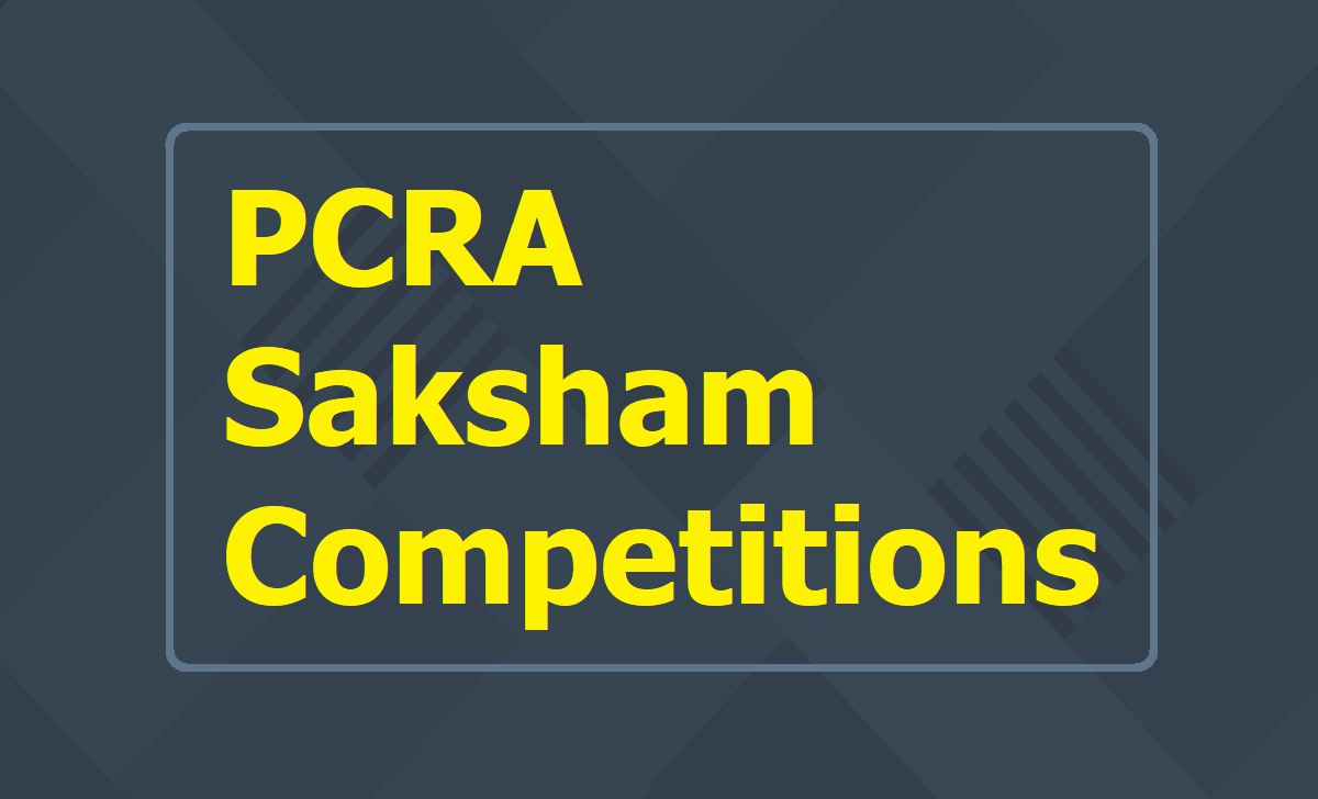 PCRA Saksham National Essay Painting & Quiz Competitions 2020