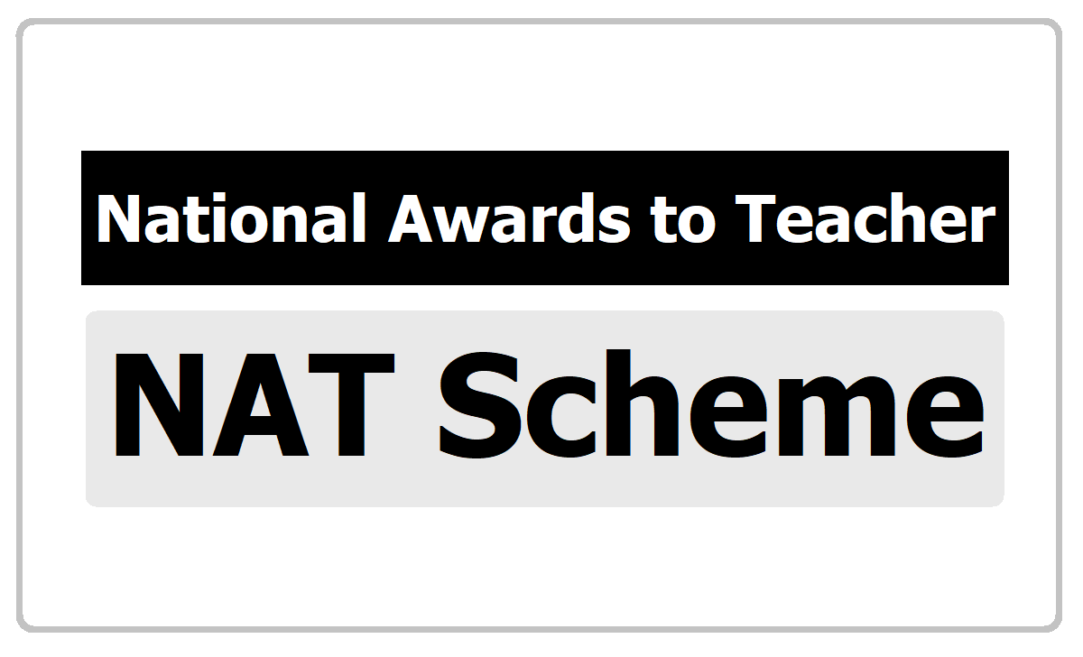 Scheme of National Award to Teachers Guidelines, Selection procedure