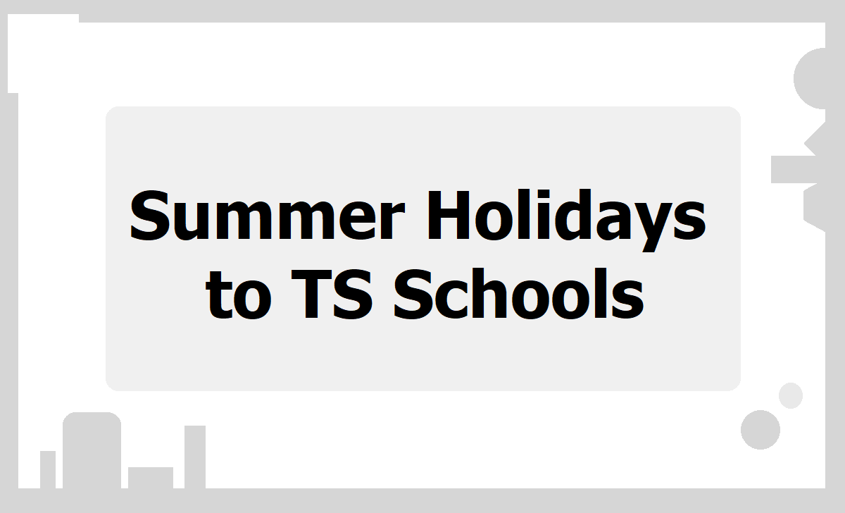 Summer Holidays to TS Schools