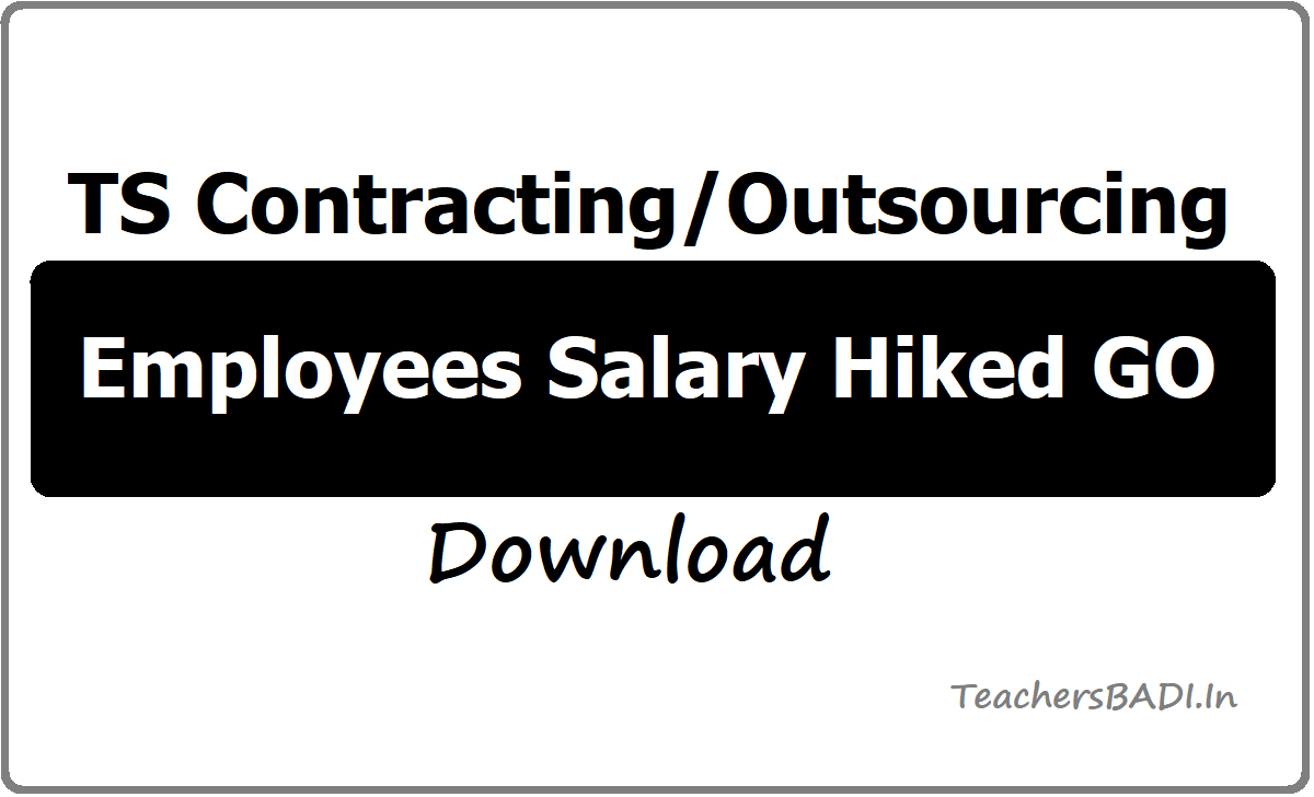 TS Contracting/Outsourcing employees salary