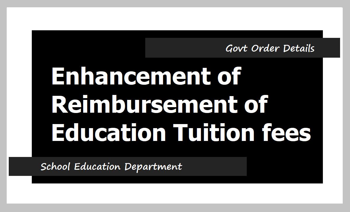 GO.27 Education Fees Reimbursement Enhanced to Rs.2,500 to NGOs Children