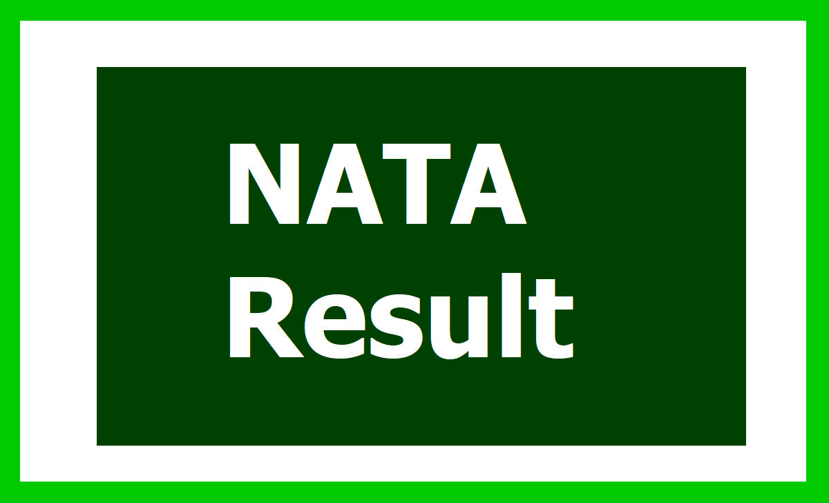 NATA Result 2020: 1st test Result to be declared at nata.in & steps to check from here