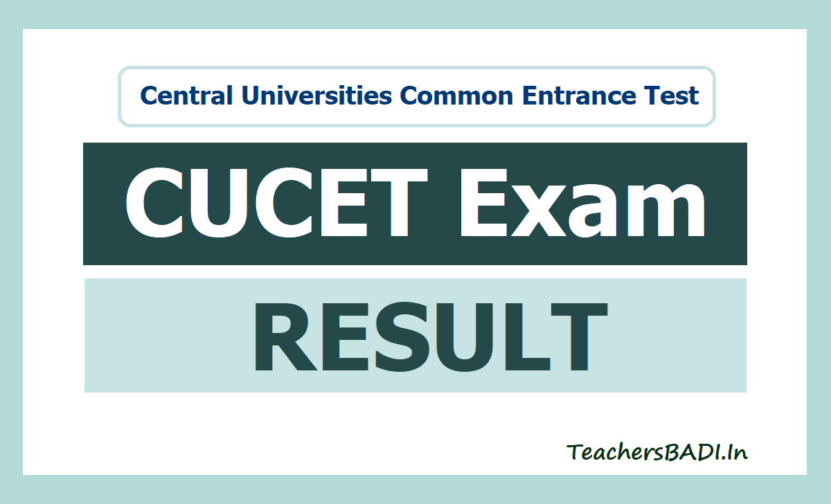 CUCET Result 2021