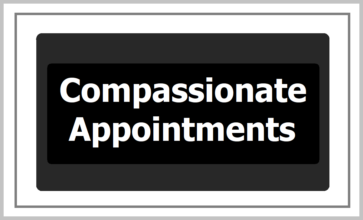 Compassionate Appointments