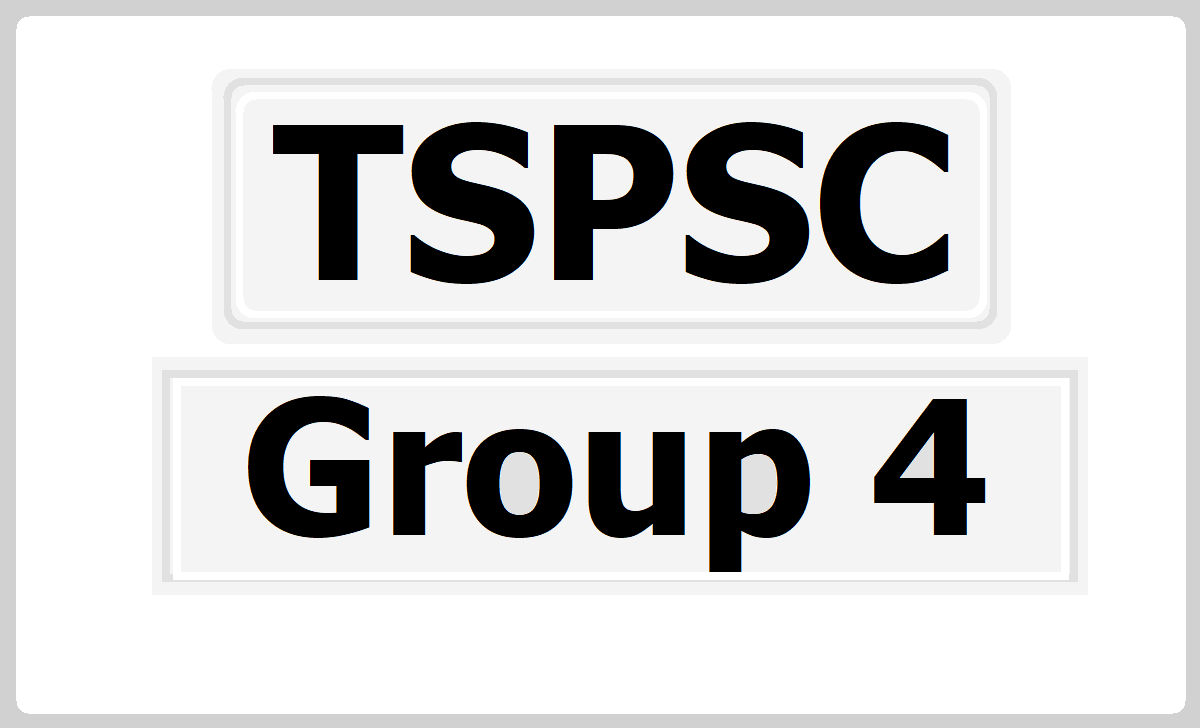 TSPSC Group 4 Result 2020 Announced on tspsc.gov.in, How to check it