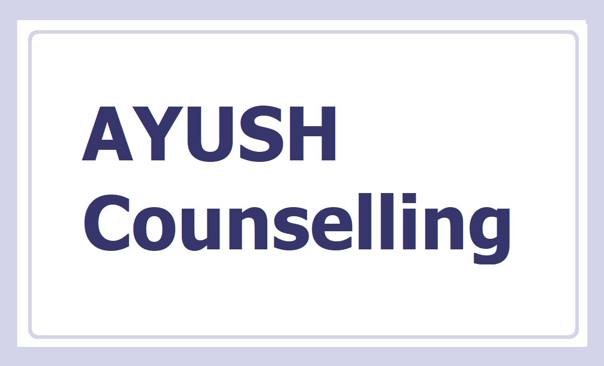 AYUSH Counselling 2020