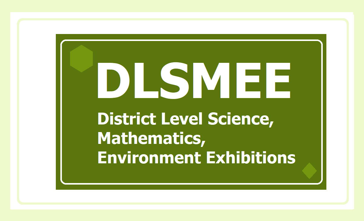 District Level Science, Mathematics, Environment Exhibitions for Children 2020