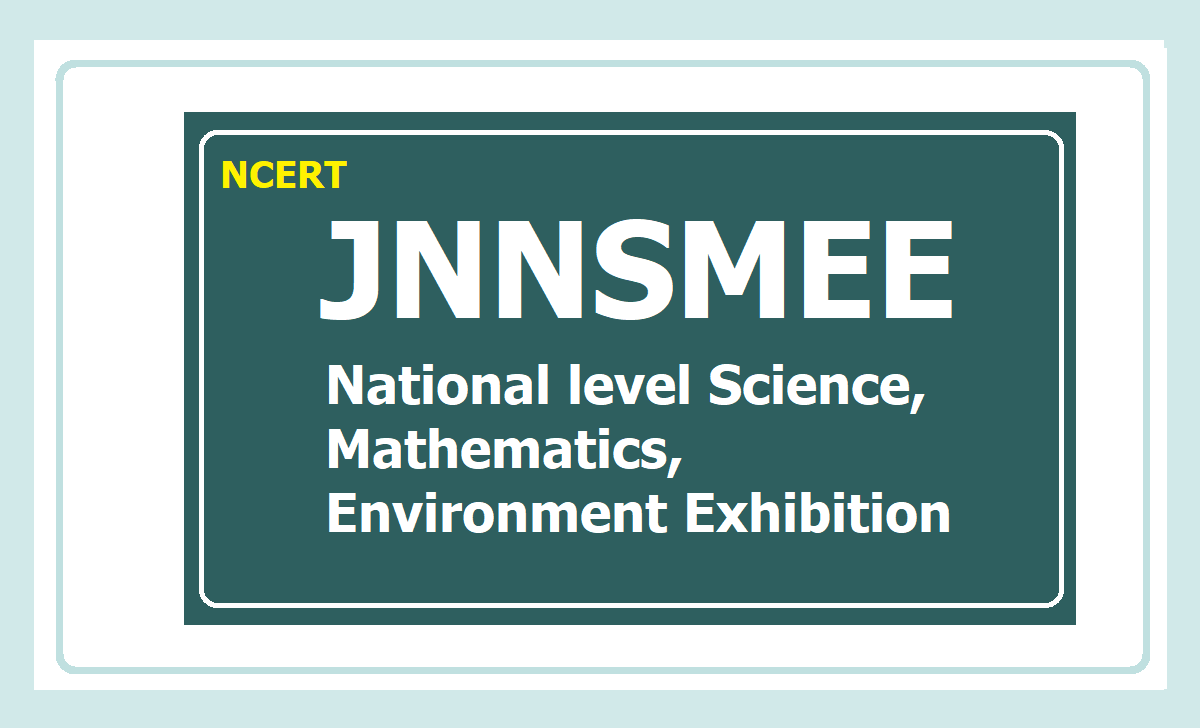 National Level Science, Mathematics, Environment Exhibitions for Children 2020