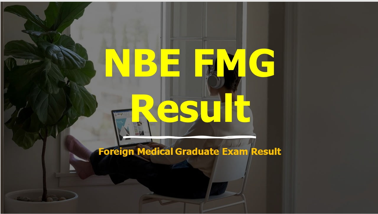 NBE FMG Result 2020 Foreign MedicalGraduate December Exam Result Declared