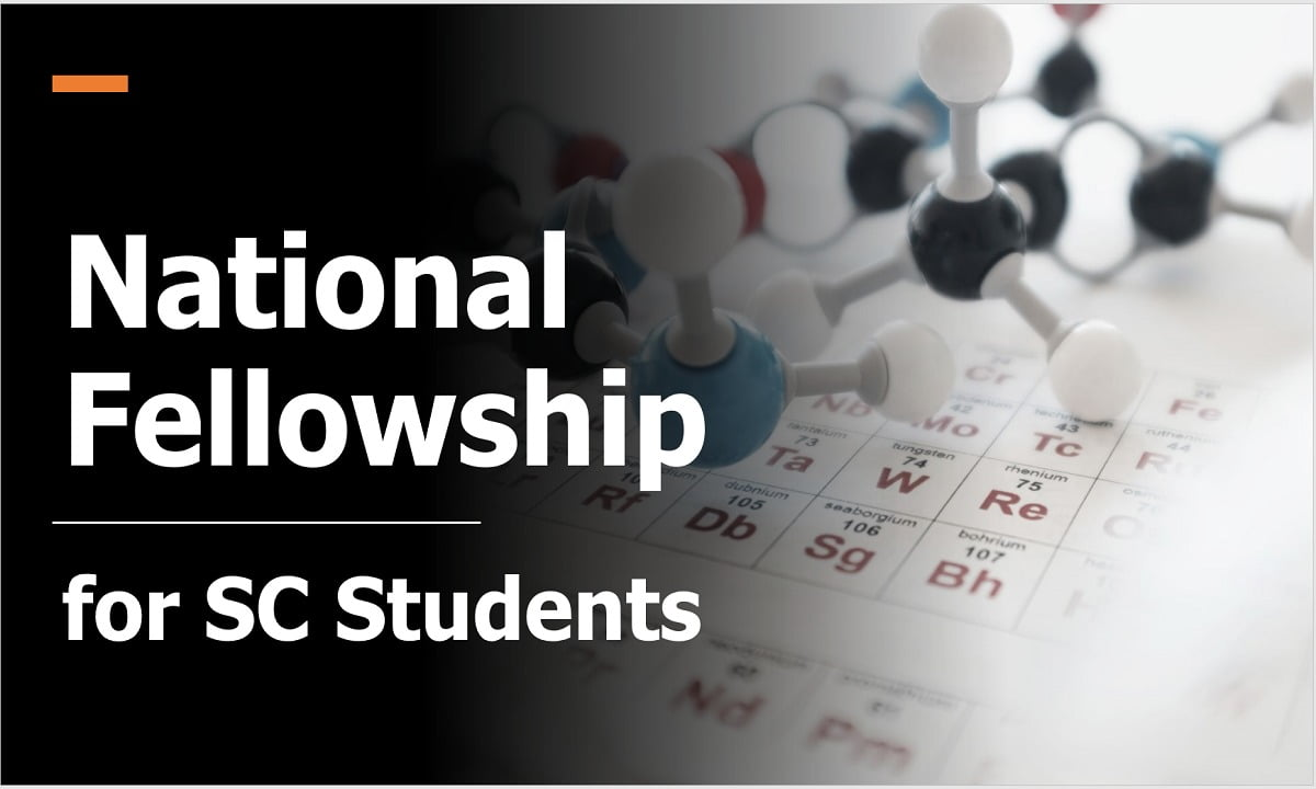 National Fellowship for SC Students