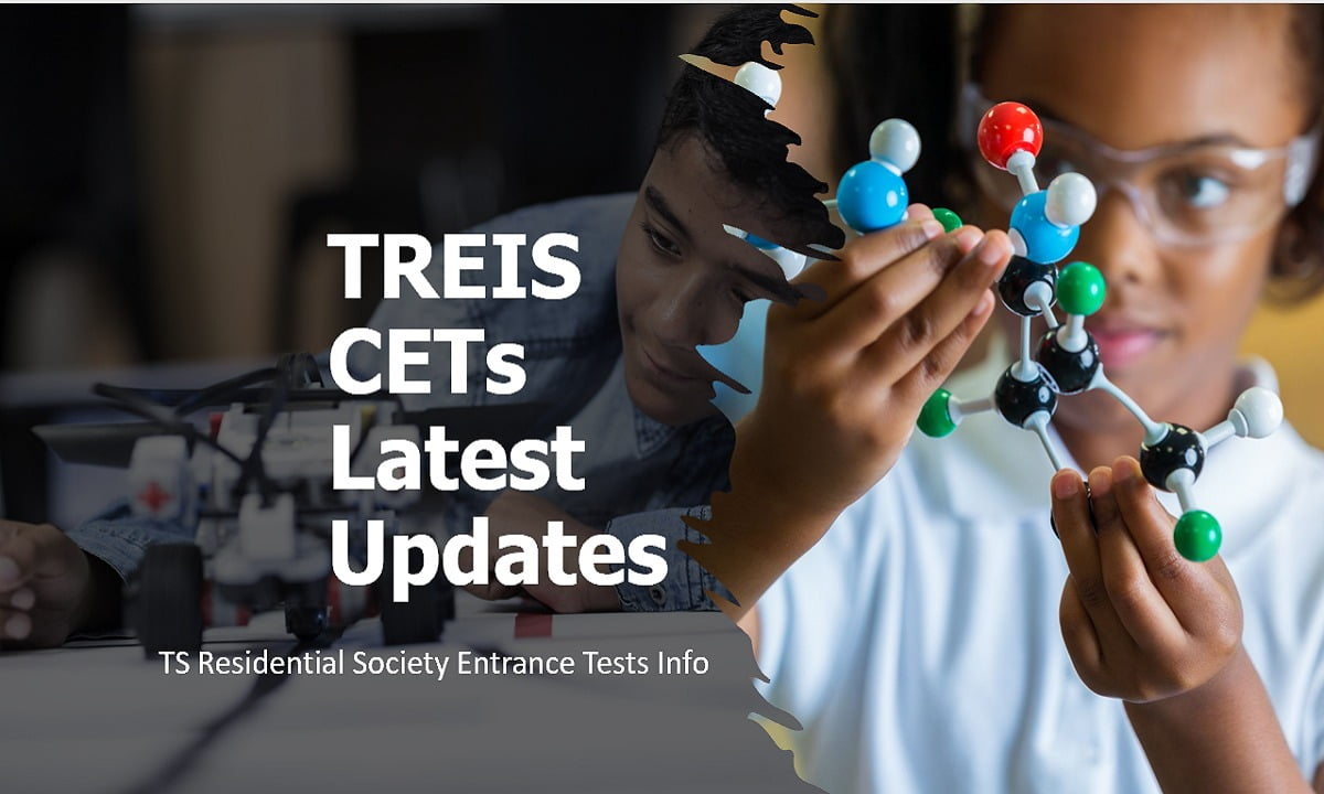 TREIS CETs 2021 Latest Updates (TS Residential Society Entrance Tests Info)