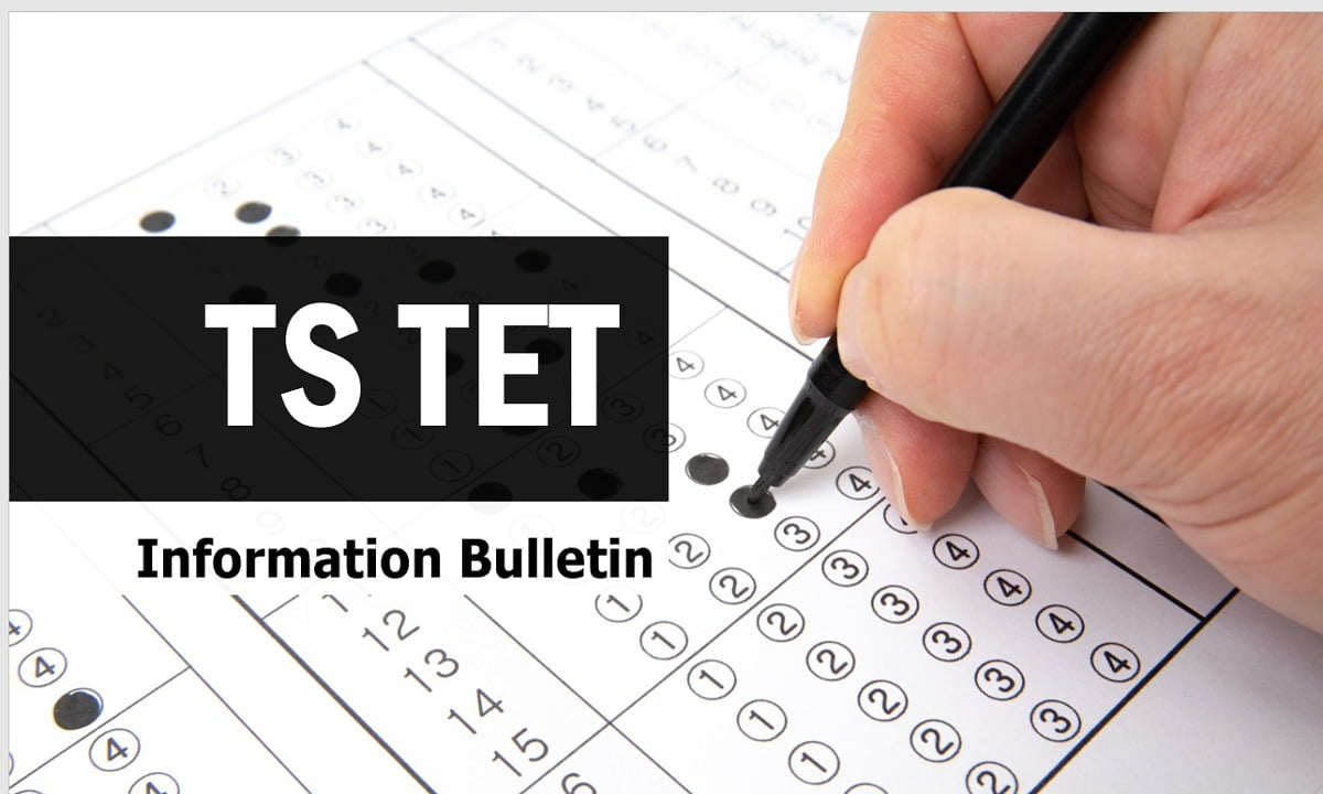 TS TET 2021 Information Bulletin Download from tstet.cgg.gov.in