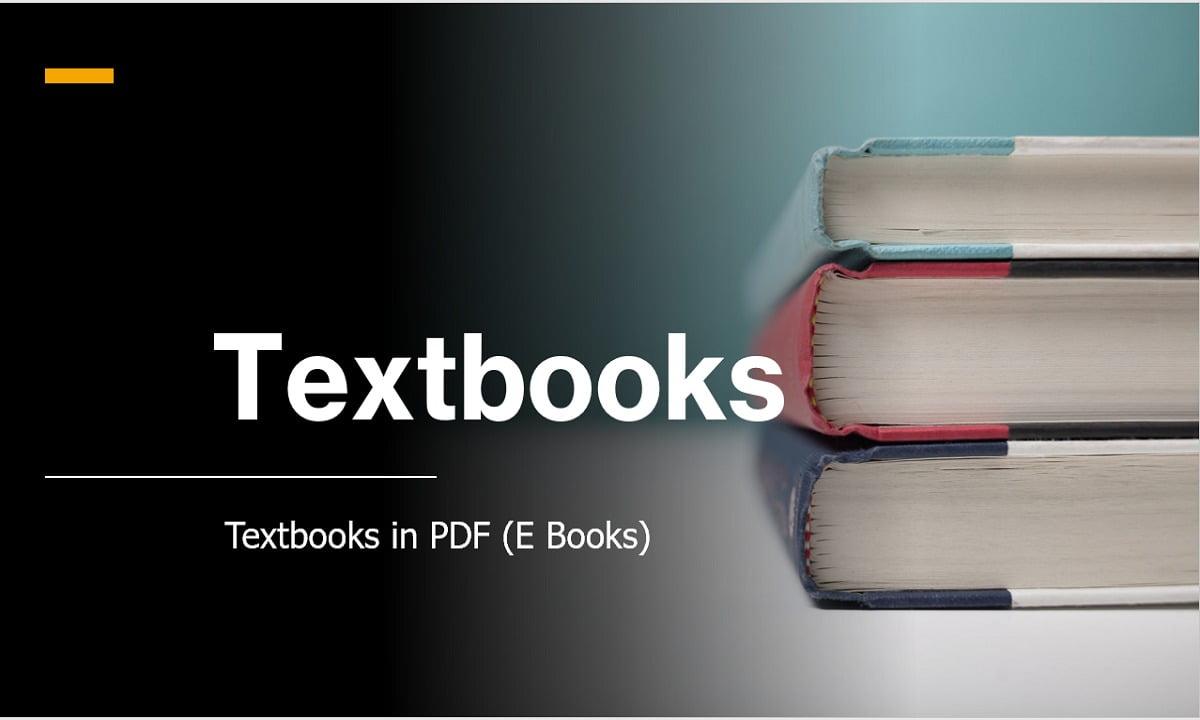 Textbooks in PDF: e Books 2021 Latest Updates