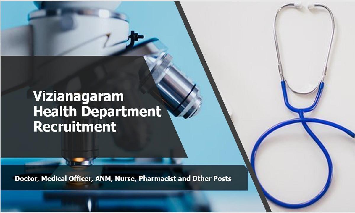 Vizianagaram Health Department Recruitment
