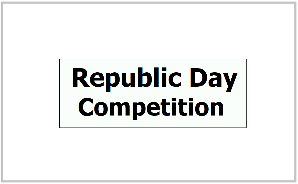 My Gov Republic Day Competition 2021 on Poetry, Essay Writing and Quiz &  Candidates participate Now