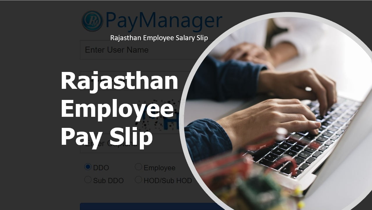 Rajasthan Employee Pay Slip download at Paymanager Salary Slip website