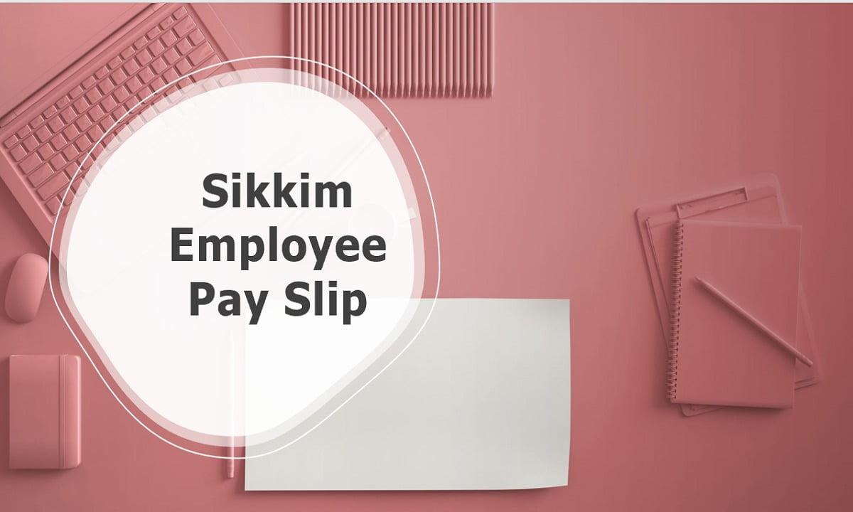 Sikkim Employee Pay Slip download Salary Slip Generate website