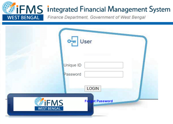 IFMS West Bengal Employee Login Web Page