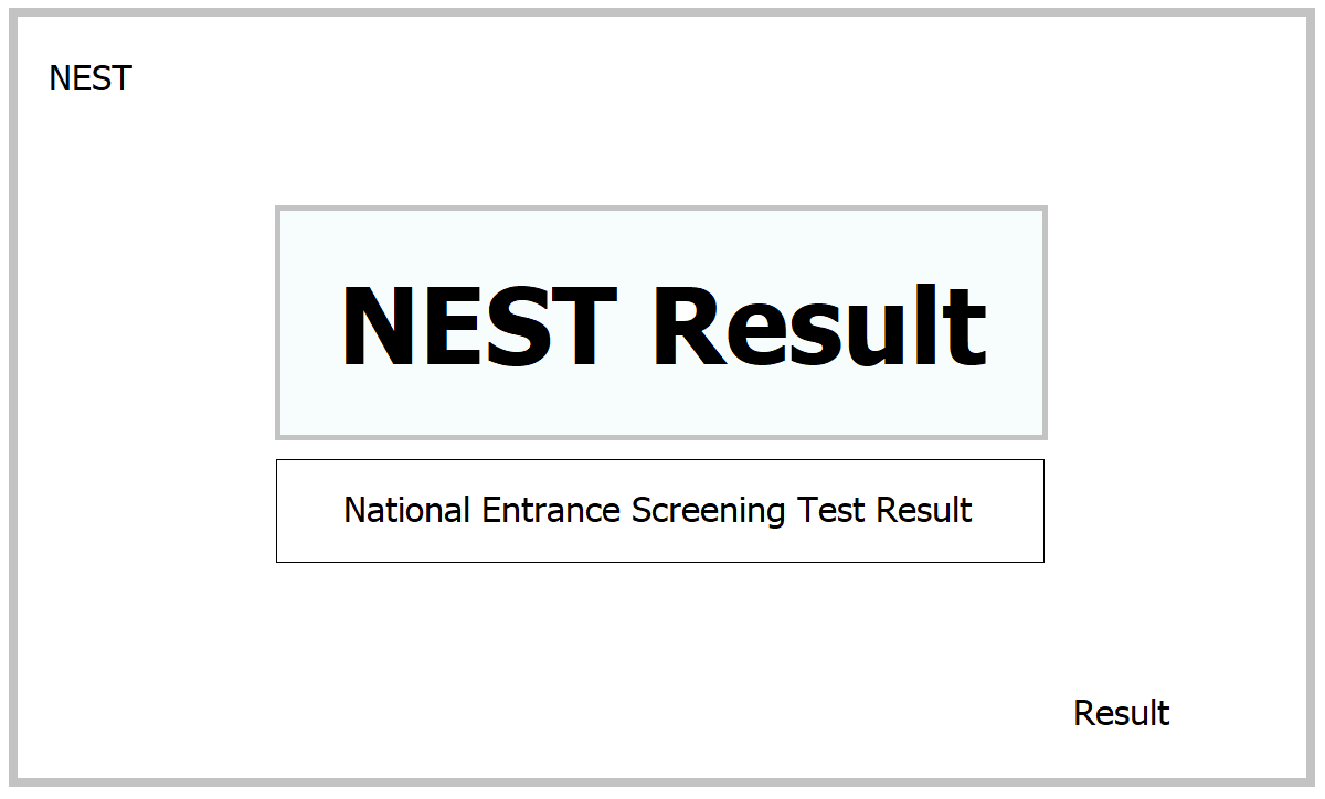 NEST Result 2021