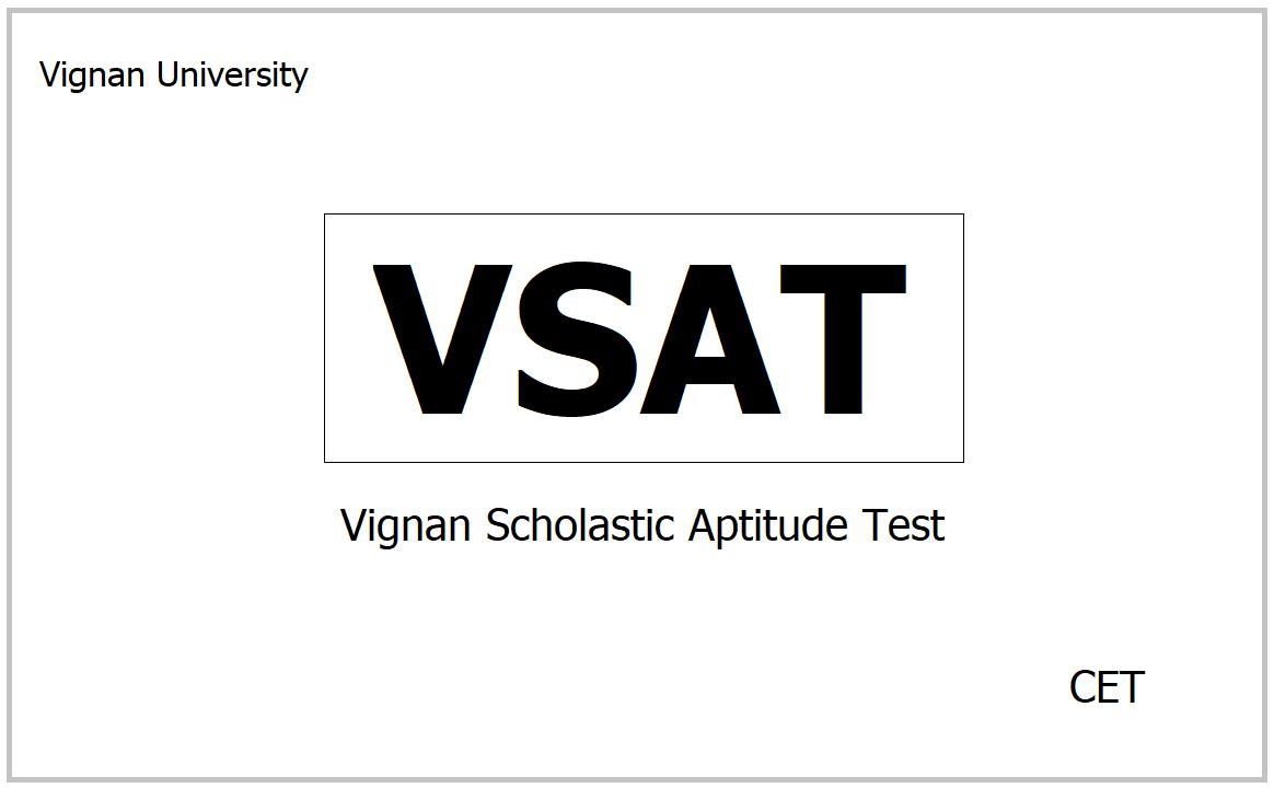 VSAT 2021, Apply for Vignan Scholastic Aptitude Test