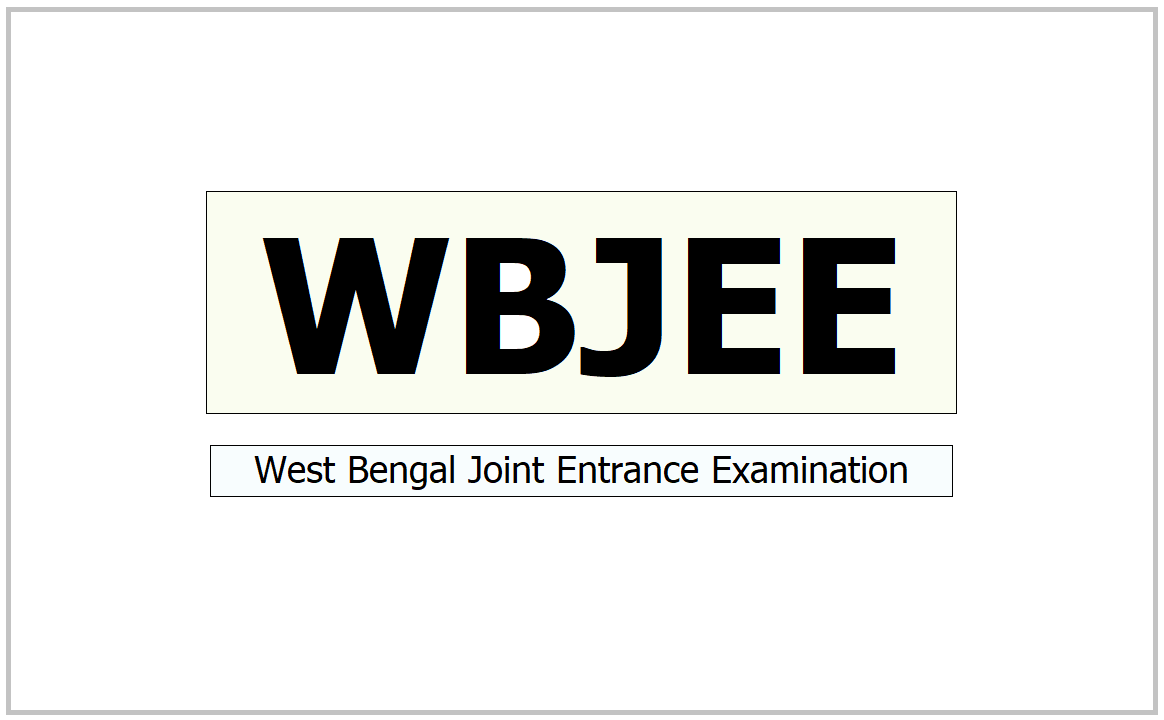 West Bengal Joint Entrance Examination 2021