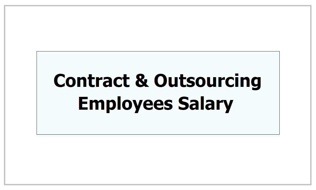 TS PRC 2021: Contract and Outsourcing Employees Salary Hike and Other benefits
