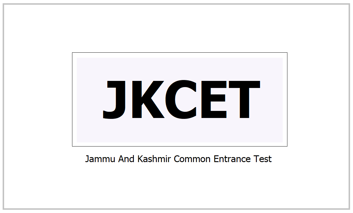 JKCET 2021, Apply for Jammu And Kashmir Common Entrance Test at jkbopee.gov.in