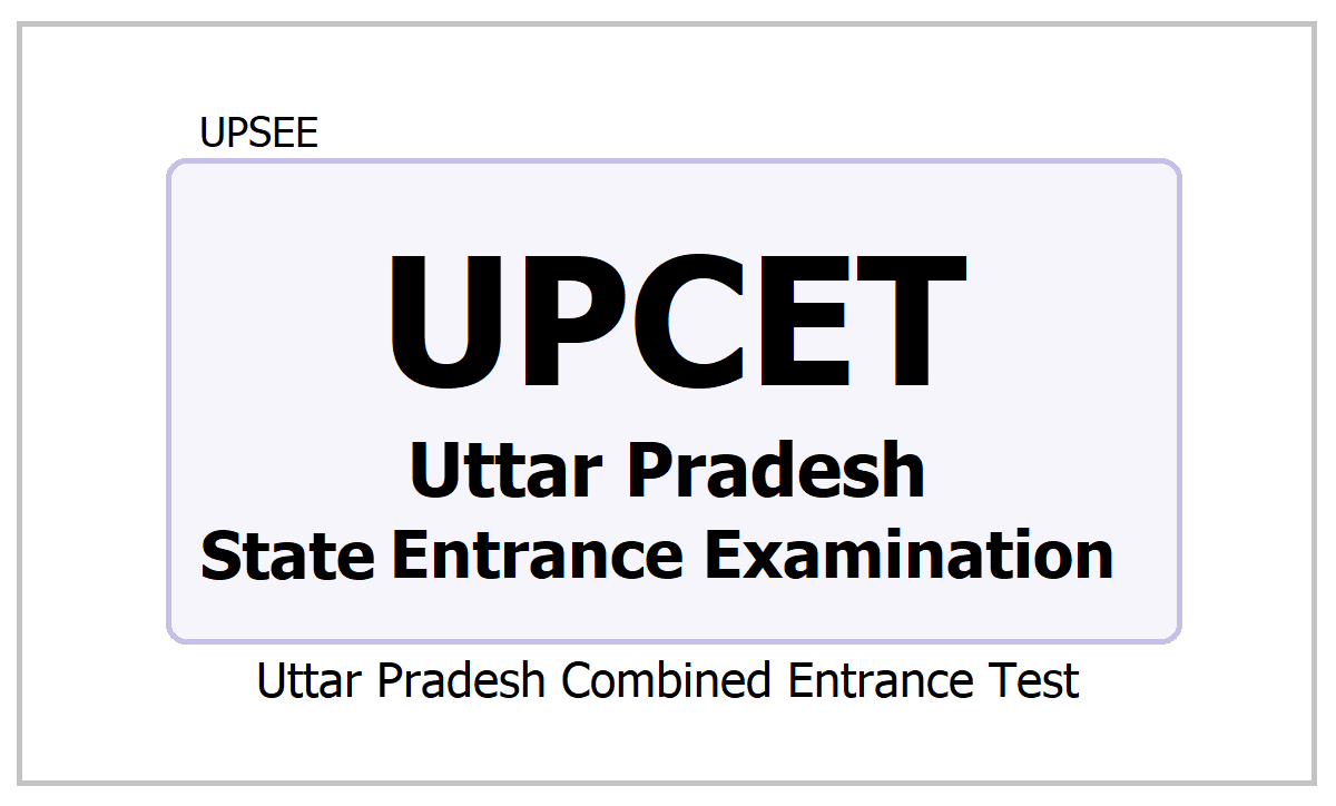 UPCET 2021, Uttar Pradesh Combined Entrance Test