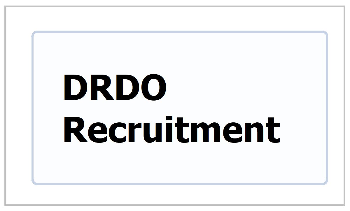 DRDO JRF & RA Posts Recruitment 2021 (Junior Research Fellowship/ Research Associate Posts)