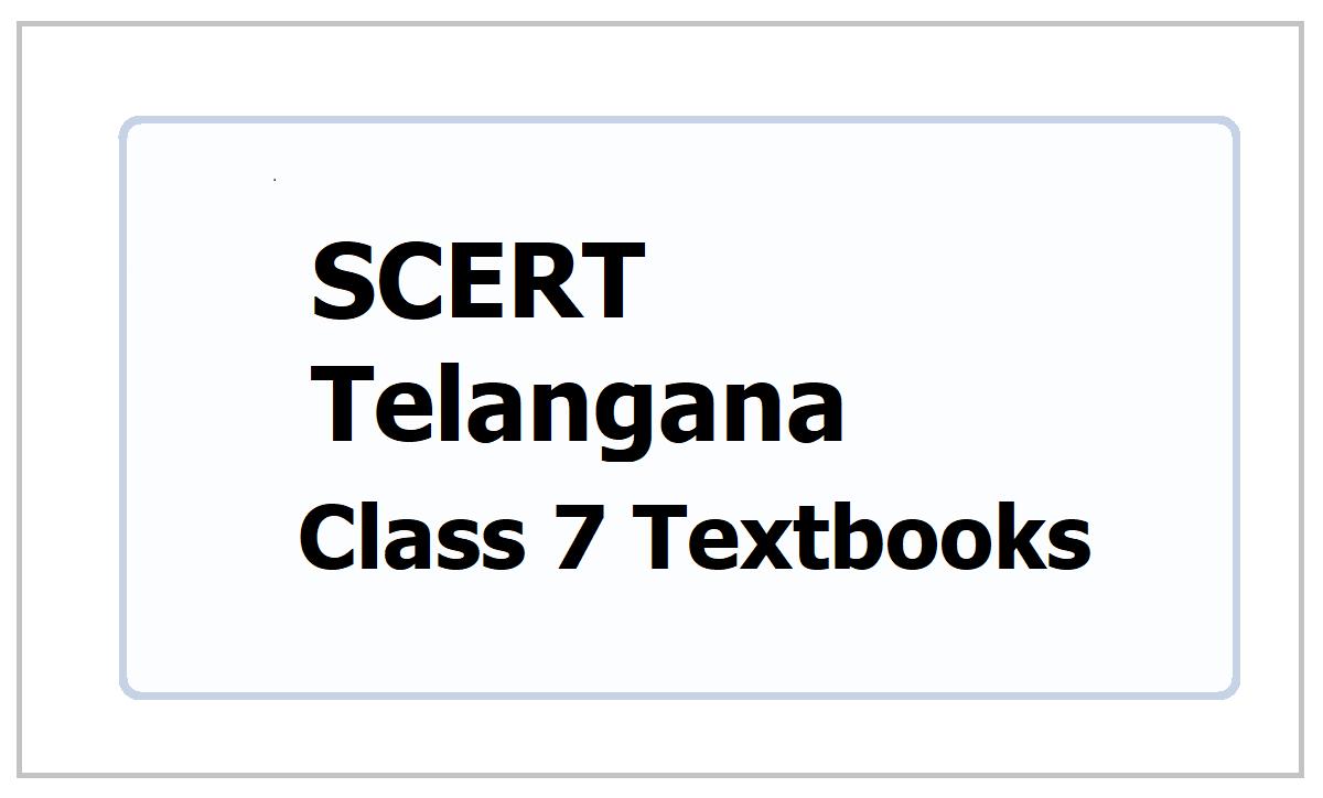 SCERT Telangana Class 7 Textbooks